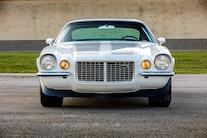 004 1970 Camaro DSE Pro Touring White Blue LS Supercharged Blower Wilwood