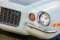 008 1970 Camaro DSE Pro Touring White Blue LS Supercharged Blower Wilwood