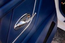 053 1970 Camaro DSE Pro Touring White Blue LS Supercharged Blower Wilwood