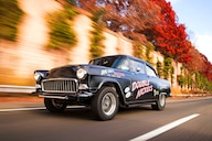A 1955 Chevy Gasser Tribute Thats As Fun To Drive As It Is To Look At