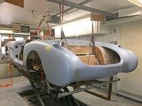 048 1960 Corvette Weber Tube Chassis Pro Touring LS