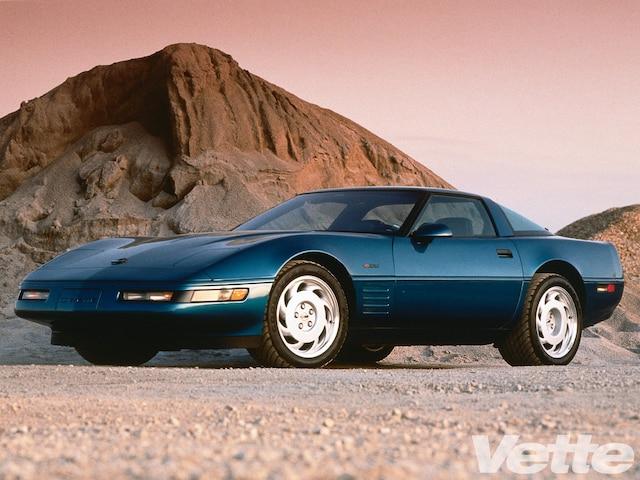 Vemp 0006 01 O 1990 Chevrolet Corvette Zr1 Blue C4