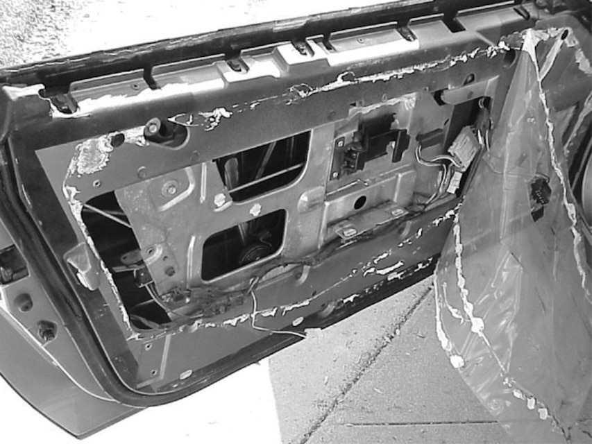 Installing New Door Locks For A 1984 Chevrolet Corvette