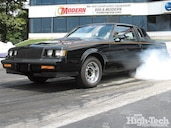 1003gmhtp 01 o precision turbo upgrade on a 1987 buick grand national  burnout