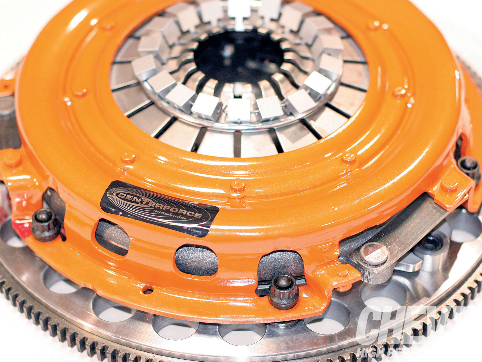 1007chp 01 O Centerforce Twin Disc Clutch 2010 Chevrolet Camaro Put Together