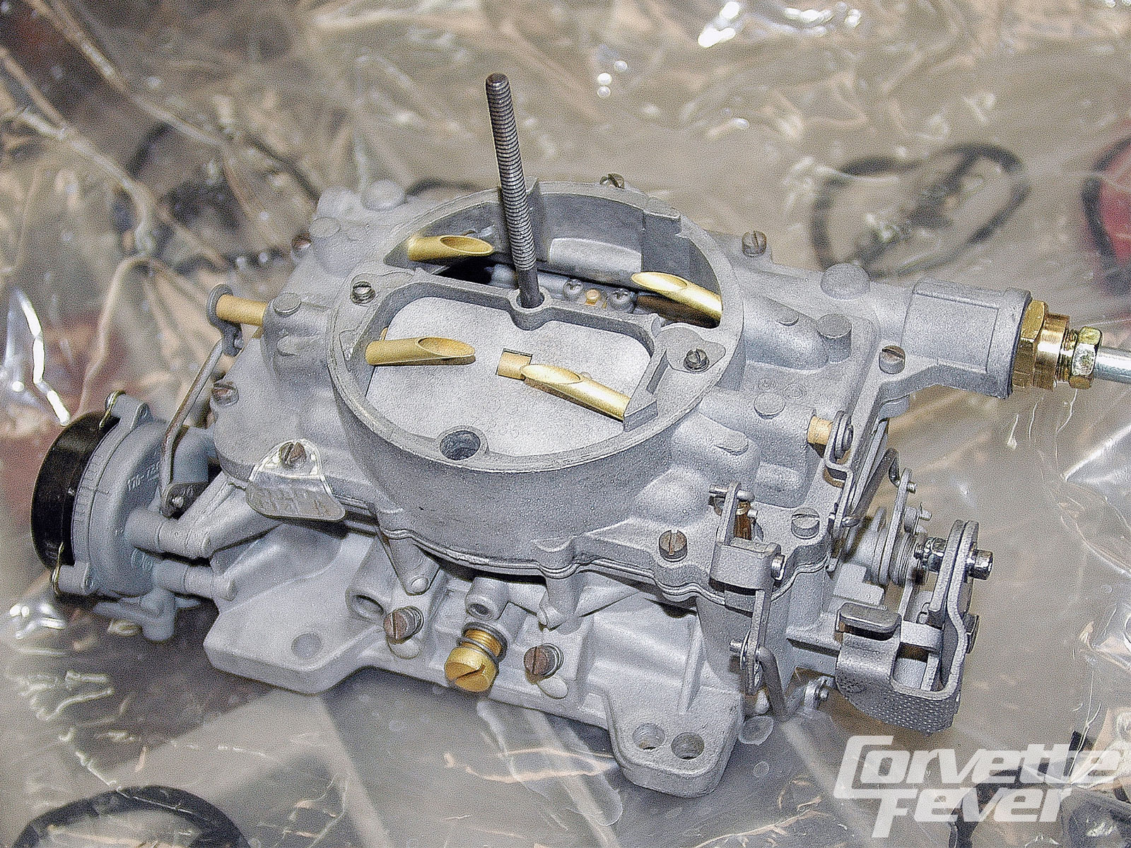 Corvette Carburetor Rebuild - Carter AFB Blueprint Rebuild