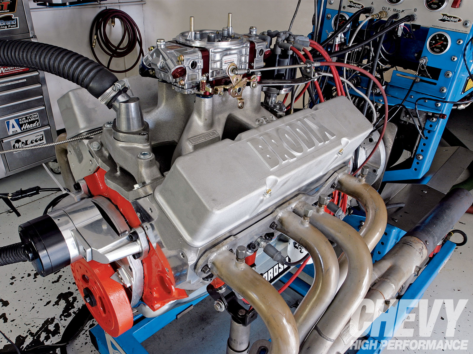 1009chp 01 Z 355ci Small Block Engine