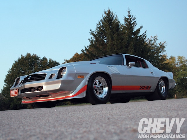 1007chp 01 O 1979 Chevrolet Camaro Z28 Side