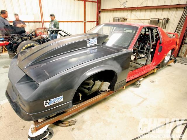 1007chp 01 O 1991 Chevrolet Camaro Racecar Build Body