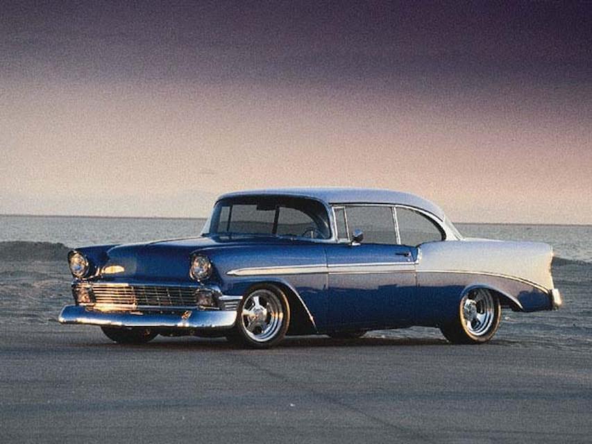 1956 Chevrolet Bel Air Zz4 Crate Engine Super Chevy Magazine