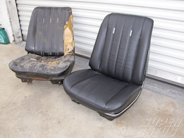Bucket Seat Restoration - Seat Resto-You Can Do It!