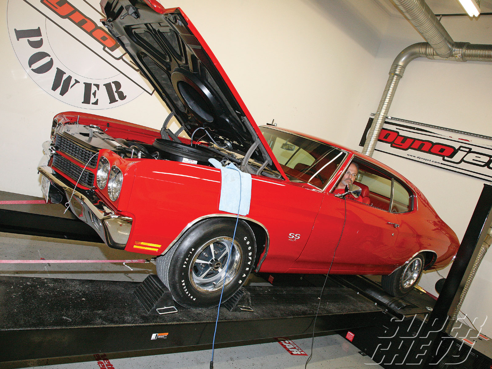 Sucp 1102 03 O Chevrolet Muscle Car Dyno Wars 1970 Ls6 Chevelle