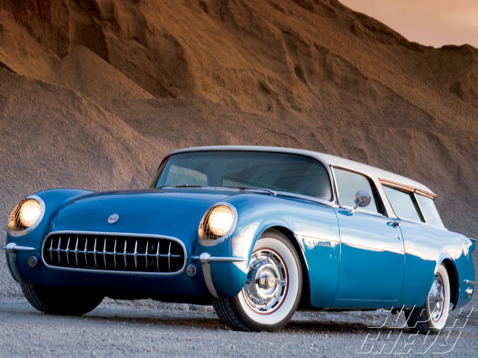 1956 Chevy Corvette Nomad - The Waldorf Nomad