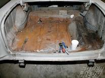 Sucp 1104 01 O 1955 Chevy Tri Five Body Rust Repair Rusted Trunk