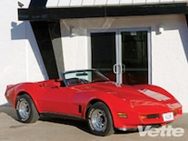 Vemp 0912 05 Pl 1980 Chevrolet Corvette Convertible Front Right