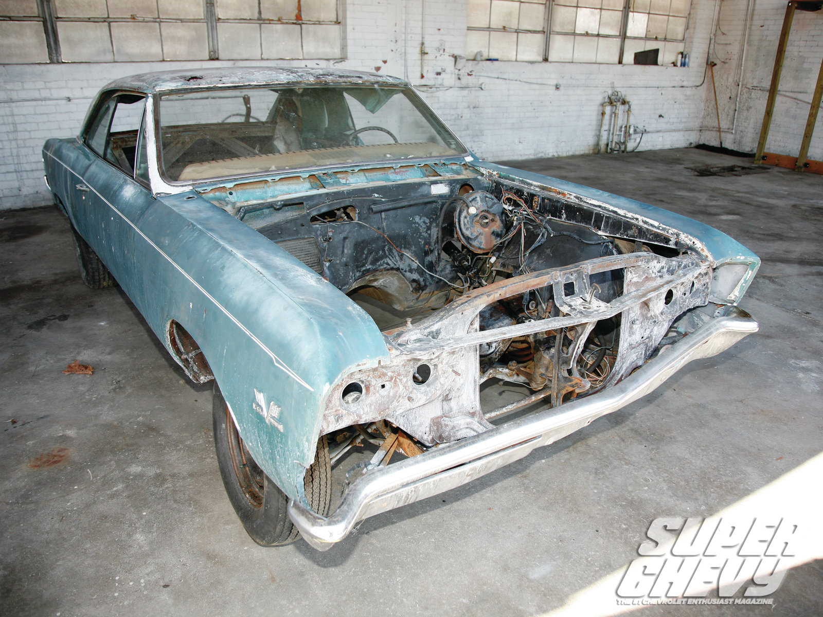 1967 Chevrolet Chevelle AMD Project - How Much Project Can You Handle?