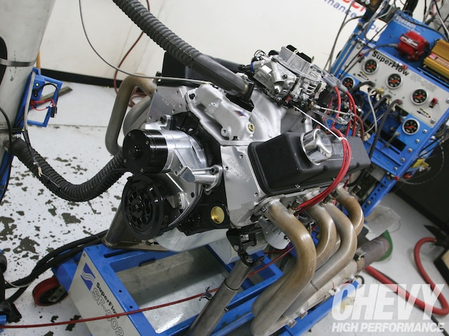1101chp 01 O 383 Stroker Top End Build 383 Engine