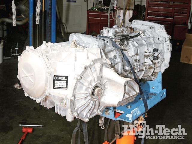 1102gmhtp 01 Pr Chevrolet Corvette C6 Driveline Enhancements Transmission