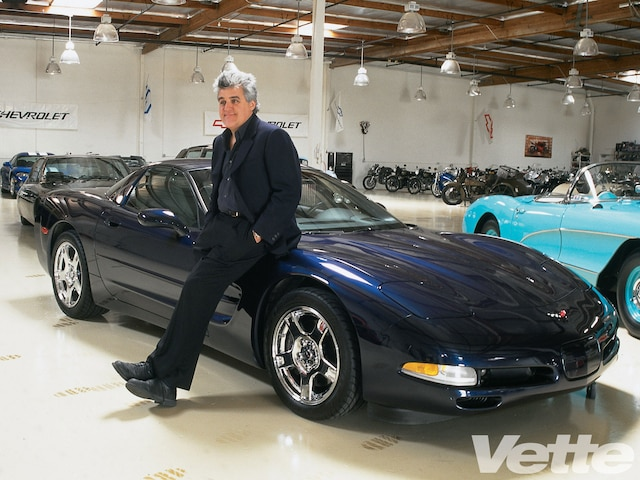 Vemp 0007 19 O Navy Blue Metallic 99 Corvette Coupe Jay Leno And His Corvette