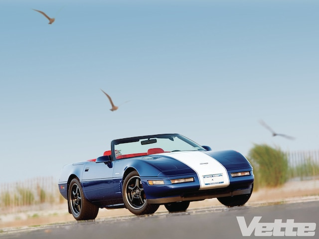 Vemp 1109 00 1996 Chevrolet Corvette Grand Sport Convertible