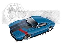 Camp 1004 01 O 1968 Chevy Camaro Project Car Custom Design