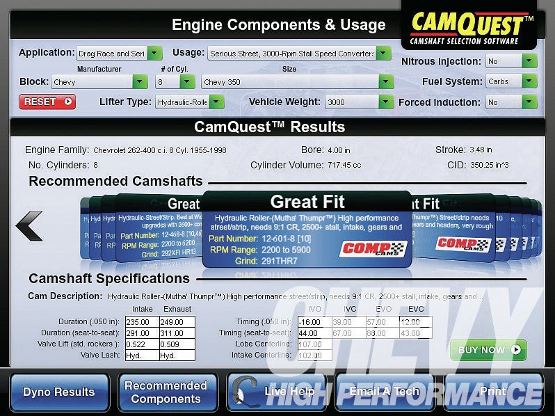 1107chp 01 O  July 2011 Chevy High Performance Parts