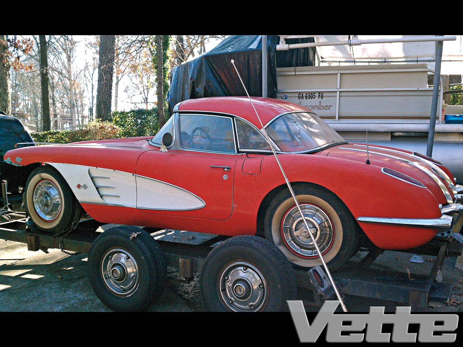 1958 Chevrolet Corvette Too Good To Be True C1 Rare Find Vette