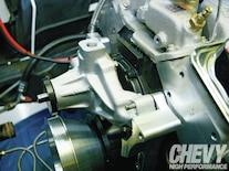 1111chp 05 O  Eddie Motorsports S Drive Serpentine Kit Install Water Pump