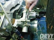 1111chp 06 O  Eddie Motorsports S Drive Serpentine Kit Install Spacers