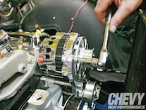 1111chp 09 O  Eddie Motorsports S Drive Serpentine Kit Install Alternator