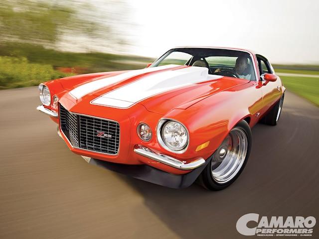 Camp 1007 01 O 1970 Chevy Camaro Front