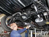 1201chp 07 O  Flowmaster American Thunder Kit Hangers Installed