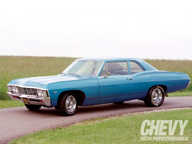 1967 Chevy Biscayne Chevy High Performance Magazine
