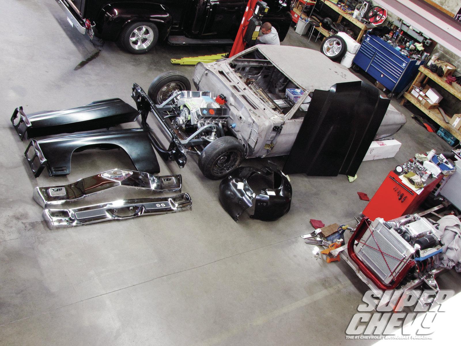 El Camino 1970-72 Chevrolet Chevelle Malibu Rear Brake Rebuild Kit