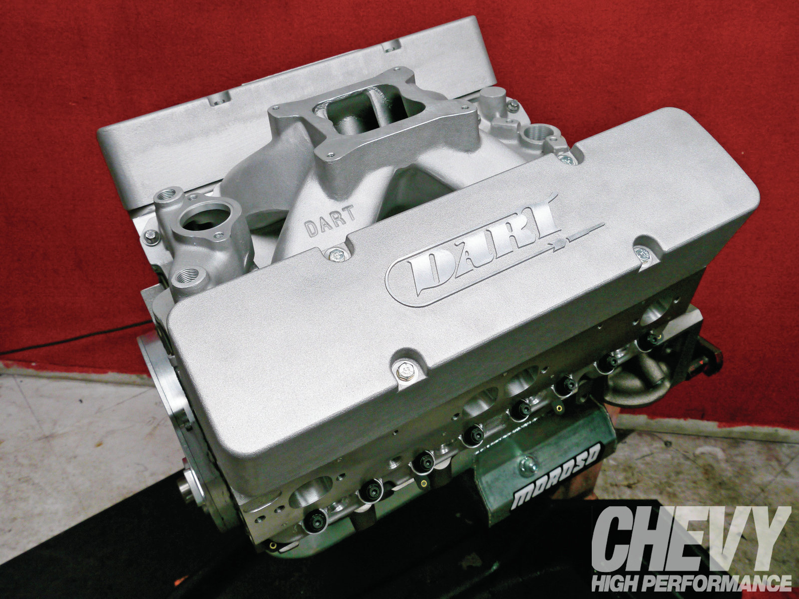1203chp 01 O  434ci Small Block Engine Build Valve Cover