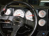 Sucp_1101_19 Classic_dash_6_gauge_panel_auto_meter_gauges Shift_light