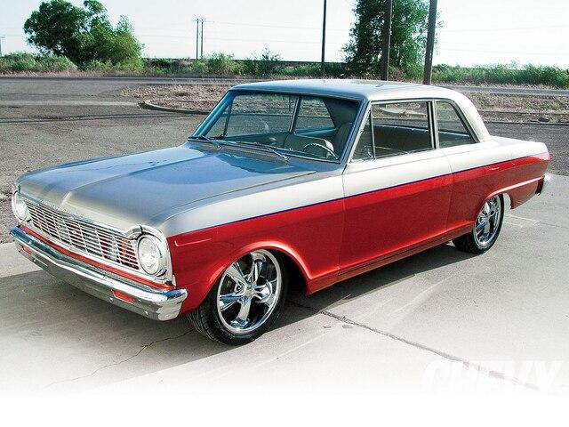 1101chp 04 O 1965 Chevrolet Nova Front