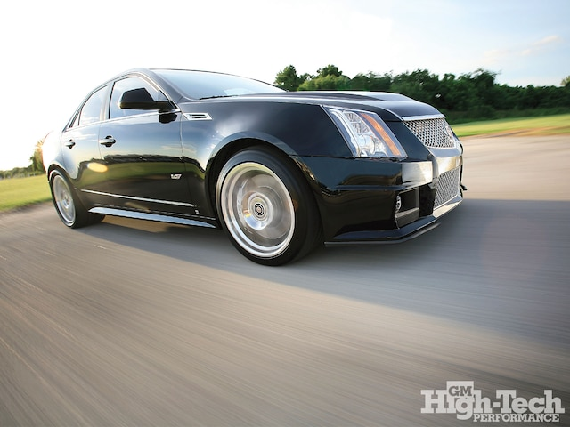 1102gmhtp 01 O 2009 Cadillac Cts V Front Side