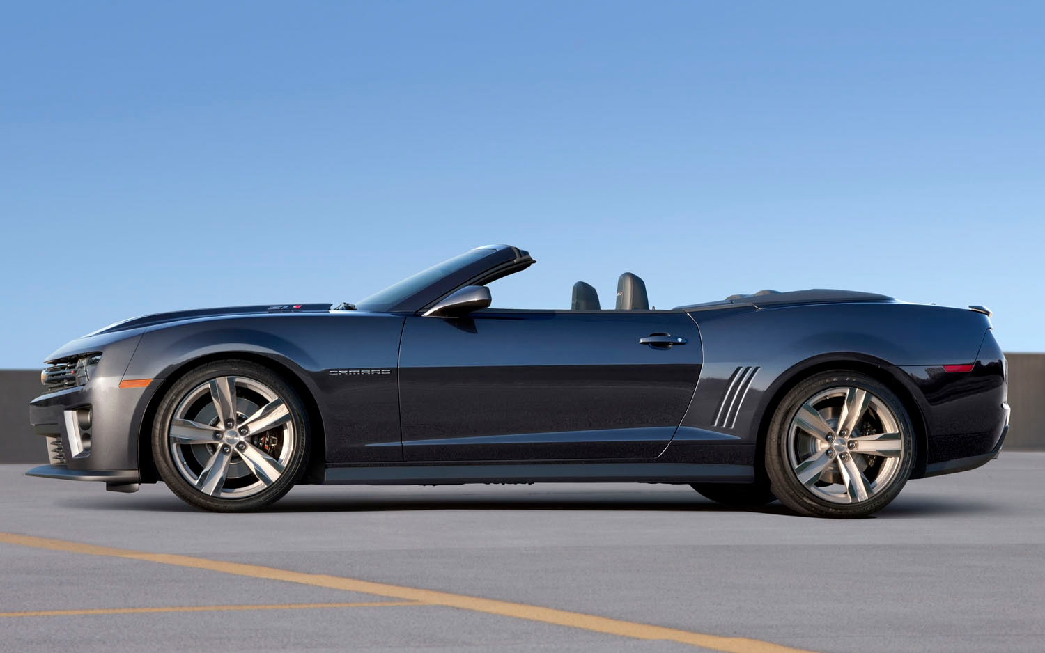 2013 Chevrolet Camaro ZL1 Convertible Left Side View
