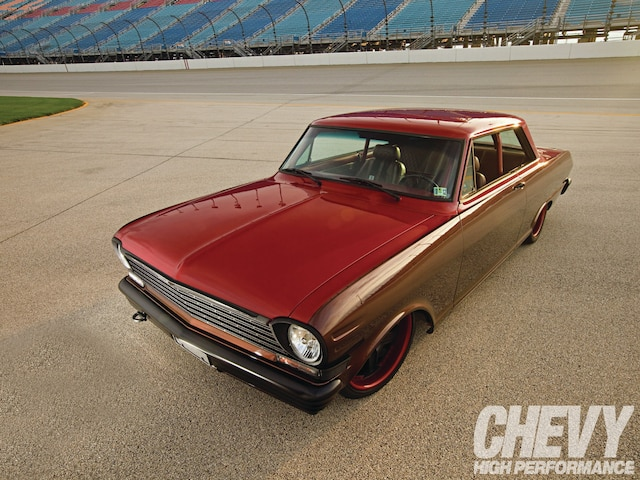 1202chp 01 O  1962 Chevrolet Ii Front