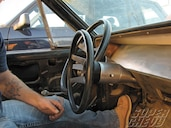 Flaming River Steering Column Install - Super Chevy Magazine