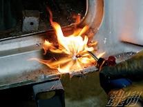 Sucp 1104 09 O 1955 Chevy Tri Five Body Rust Repair Melting More Lead And Bondo