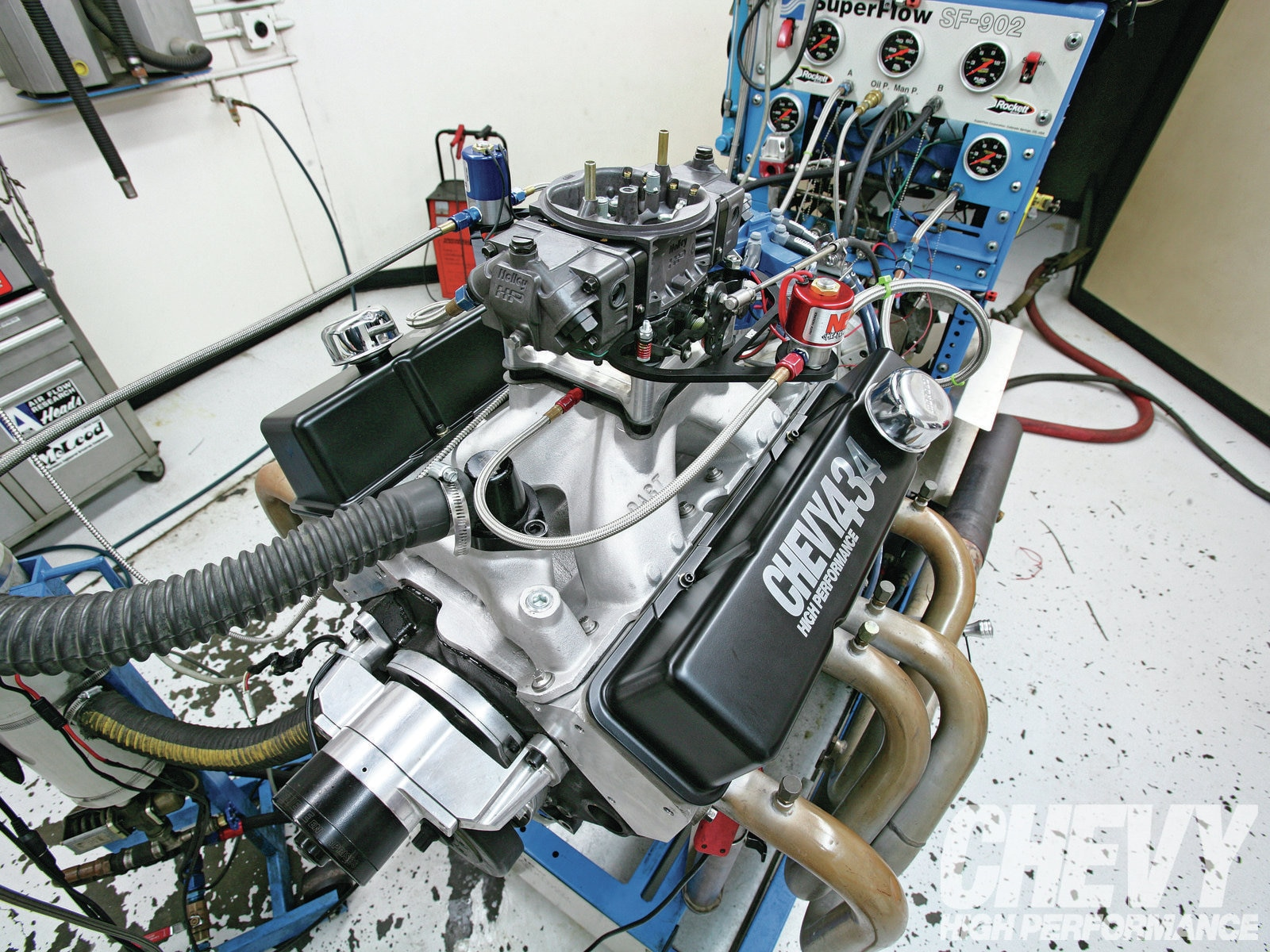 1207chp 01 O  434 Engine Power Upgrades Dyno