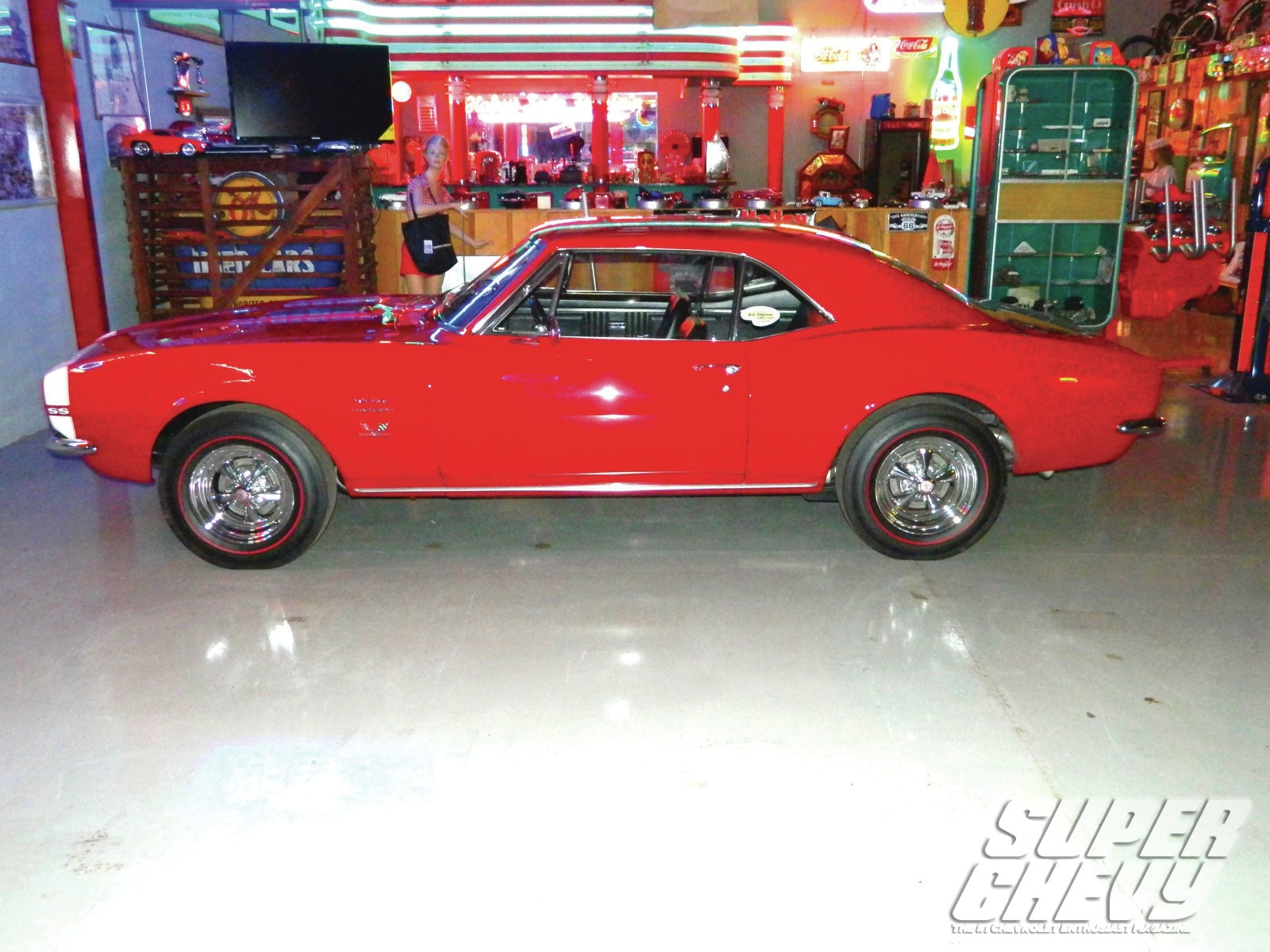 Sucp 1205 000 1967 Chevy Camaro Superstar