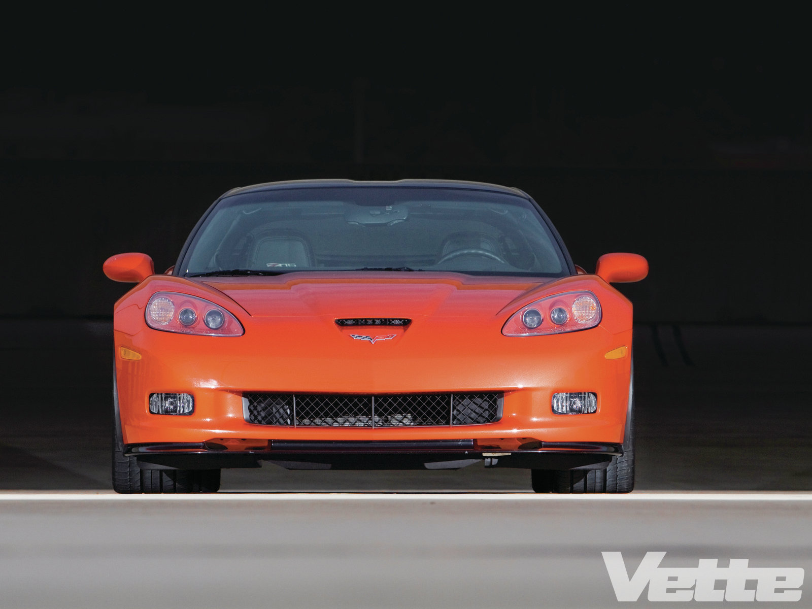 Vemp 1112 Team Corvettes 2011 Z06 Treat Or Trick 000