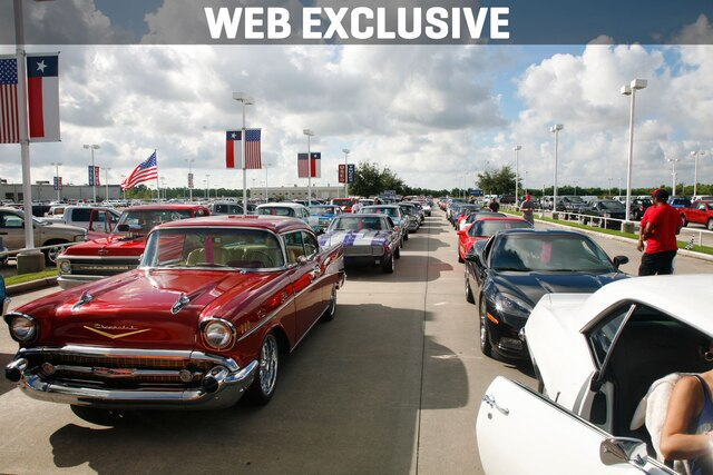 Ron Craft Chevrolet True Street Cruise Acts As Grand Opening Of Super Chevy Show In Baytown Texas Super Chevy Magazine