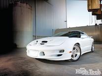 Ghtp 1204 000 1999 Pontiac Trans Am White Lightning