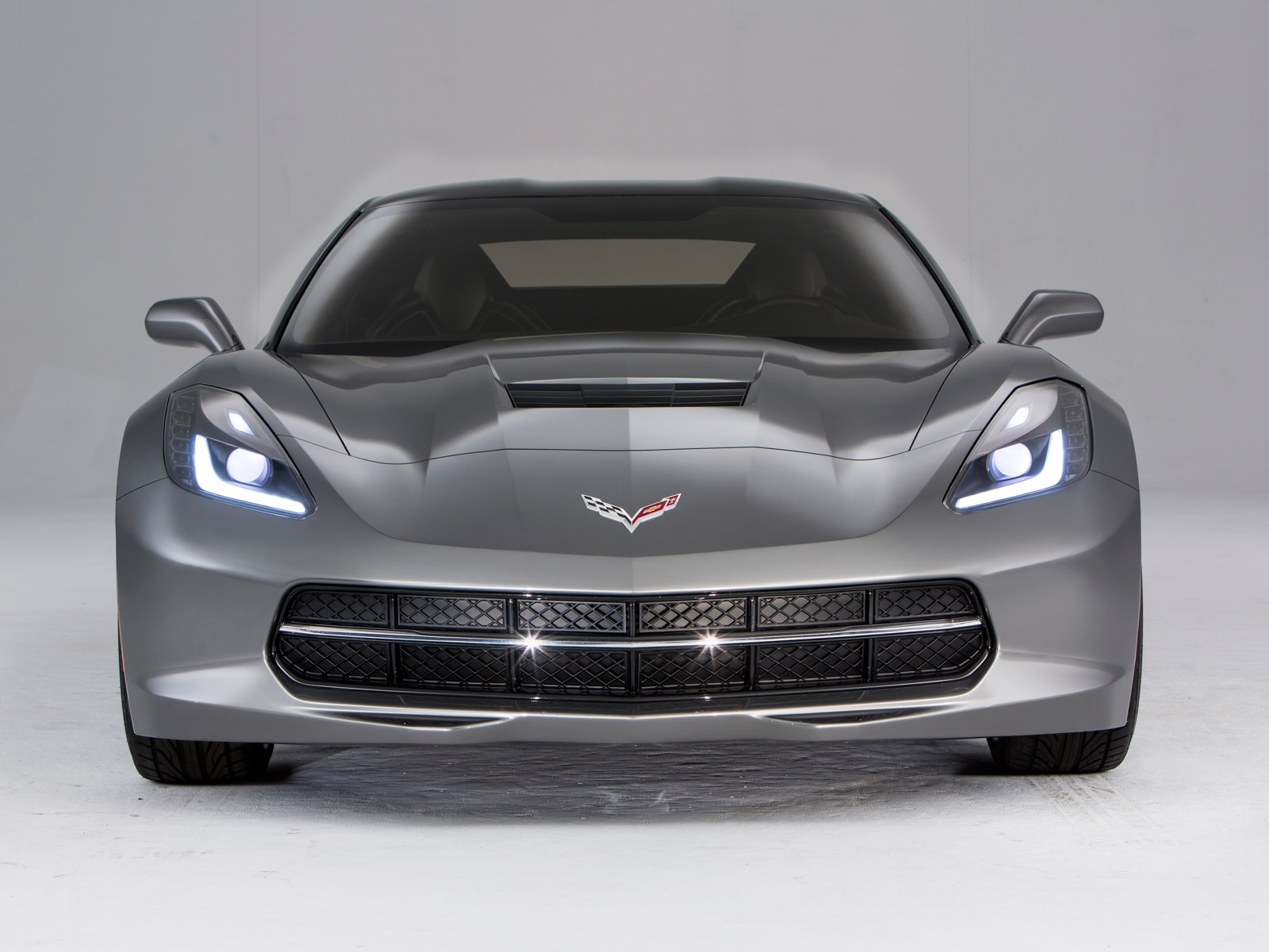 2014 Chevy Corvette C7 Stingray Front Bumper View