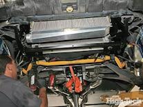 2005 Corvette C6 Z51 Procharger Install Under Body Shot