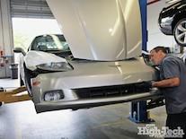 2005 Corvette C6 Z51 Procharger Install Bumper Removal
